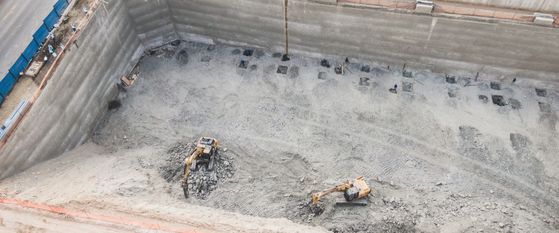 Bulk  Excavation for Basement Construction of Nedbank Head Office
